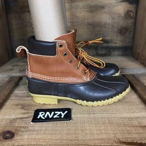 LL Bean Waterproof Tumbled Leather LLB337